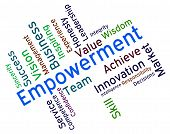 picture of spurs  - Empowerment Words Shows Spur On And Empowering - JPG
