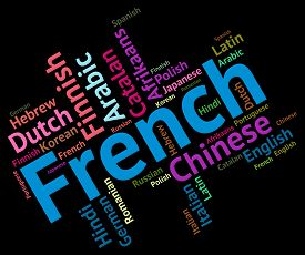 picture of dialect  - French Language Showing Languages Dialect And Text - JPG