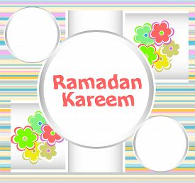 image of ramadan calligraphy  - Arabic Islamic calligraphy of text Ramadan Kareem - JPG
