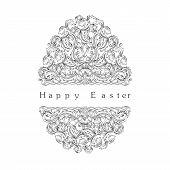 Ornamental Easter Egg.