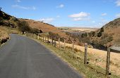 The Road To The Craig Goch Reservoir, Elan Valley, Wales.