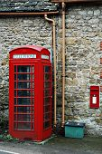 Typical English Red Phonebooth