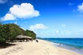 Beautiful tropical  beach Maguana at the Guantanamo province, Cuba