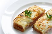 image of french toast  - Croque monsieur - JPG
