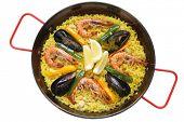 paella , rice dish , spanish food