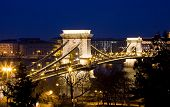 Budapest by night / Chain Bridge