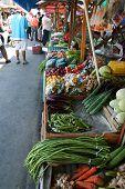 Постер, плакат: Овощной рынок
