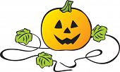 pic of jack-o-laterns-jack-o-latern  - Halloween pumpkin - JPG