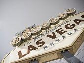 picture of las vegas casino  - vegas sign  - JPG