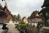 foto of ou  - templels in lao - JPG