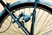 stock photo of dynamo  - old bike dynamo - JPG