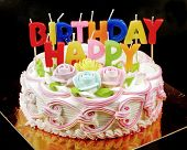 image of birthday-cake  - birthday cake - JPG