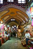 Großer Basar Geschäfte in istanbul