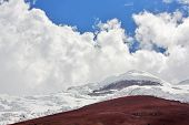 Cotopaxi - the highest active volcano at 5.897 m. Ecuador