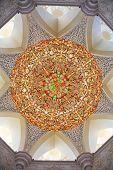 Decoración de la mezquita Sheikh Zayed. Abu Dhabi, Emiratos Árabes Unidos