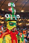 JOHANNESBURG - JULY 11 :  Final at Soccer City Stadium: Spain vs. Netherlands on July 11, 2010 in Jo