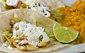 foto of mexican food  - Healthy mexican meal - JPG