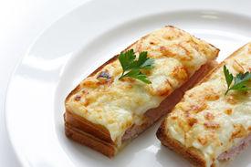 image of french toast  - Croque monsieur - JPG