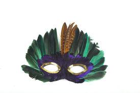 stock photo of mardi gras mask  -  Carnival mask - JPG