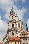 Prague St. Mikulash's church (St. Nikolay)