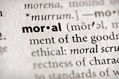 Dictionary Series - Religion: Moral