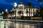Famous Hotel Negresco In Nice, France