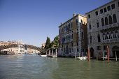 The Rialto Bride Grand Canal At Day