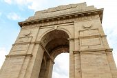 The famous India Gate in New Delhi India