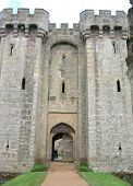 Entrance To Bodiam Castle, East Sussex, United Kingdom