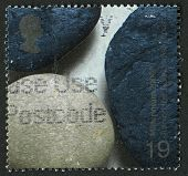 UK - CIRCA 2000: A stamp printed in UK shows image of the Millennium Projects (3rd Series),Beach Peb