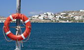 Sailing to the Greek islands