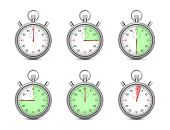 Stopwatches Various Times