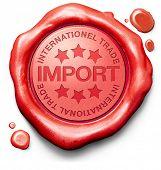 import international trade logistics freight transportation world economy importation of products