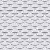 White seamless texture. Simple clean background texture. 3D Vector interior wall panel pattern.