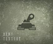 stock photo of panzer  - Military texture and panzer symbol - JPG