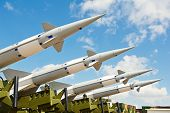 stock photo of missles  - defense forces weapon - JPG