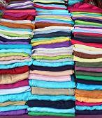 Folded Scarves