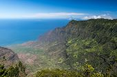 Kalalau Valley Panorama