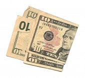 foto of two dollar bill  - Two  - JPG