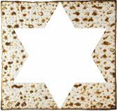 stock photo of matzah  - Jewish pastry made of flour and water ready for the Passover - JPG