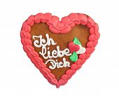 Lebkuchenherzen Gingerbread Heart Cookie