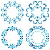 Blue Version Design Element