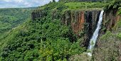 image of natal  - Howick Falls in Kwazulu-Natal, South Africa. Stitched panorama from 5 separate photos