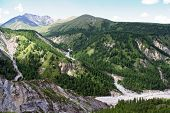 picture of mongolian  - Valley in Sayan Mountains near Russian - JPG