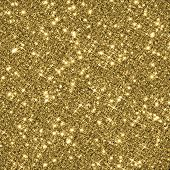 foto of gold-dust  - Gold glitter texture background - JPG