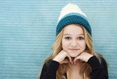Teenager With Beanie