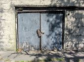 Historical Fort Wool Virginia Door