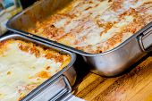 Traditional Italian Pasta Callad  Lasagna