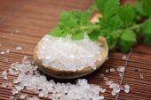 Wooden Spoon With Bath Salt