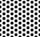 illustration of a seamless soccer pattern, eps10